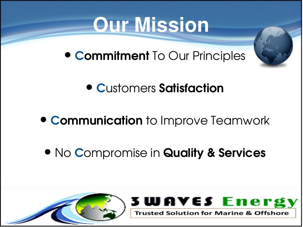3waves mission